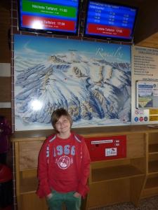 Bergstation bei der Raxseilbahn